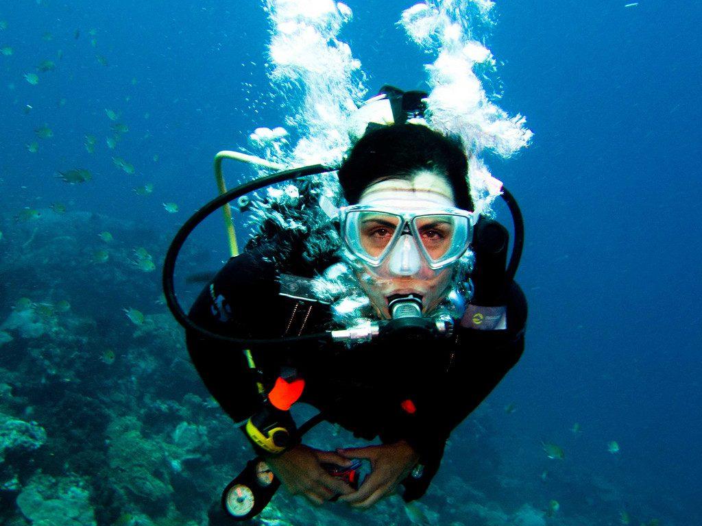 الغوص في المياة العميقة - احد تطبيقات قانون بويل