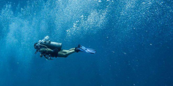 الغوص في المياة العميقة - تطبيقات قانون بويل
