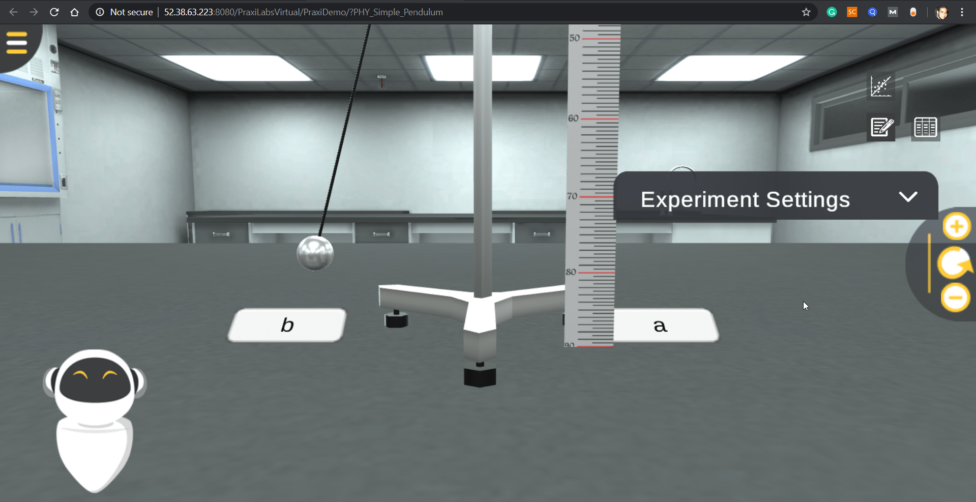 المعامل الافتراضية