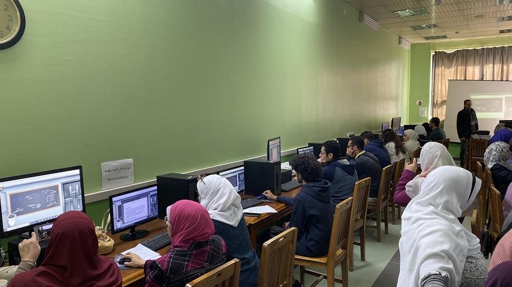 براكسيلابس في كلية الزراعة جامعة عين شمس
