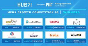 مسابقة HUB71 للنمو في منطقة الشرق الأوسط وشمال إفريقيا.