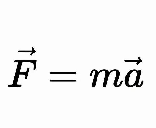 معادلة قانون نيوتن الثاني