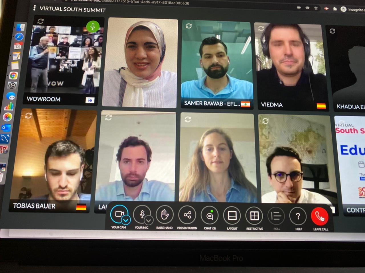 مشاركة براكسيلابس Virtual South Summit Education
