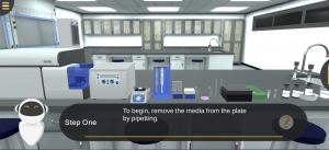 المعمل الافتراضي لتجربة قياس التدفق الخلوي- دورة الخلية