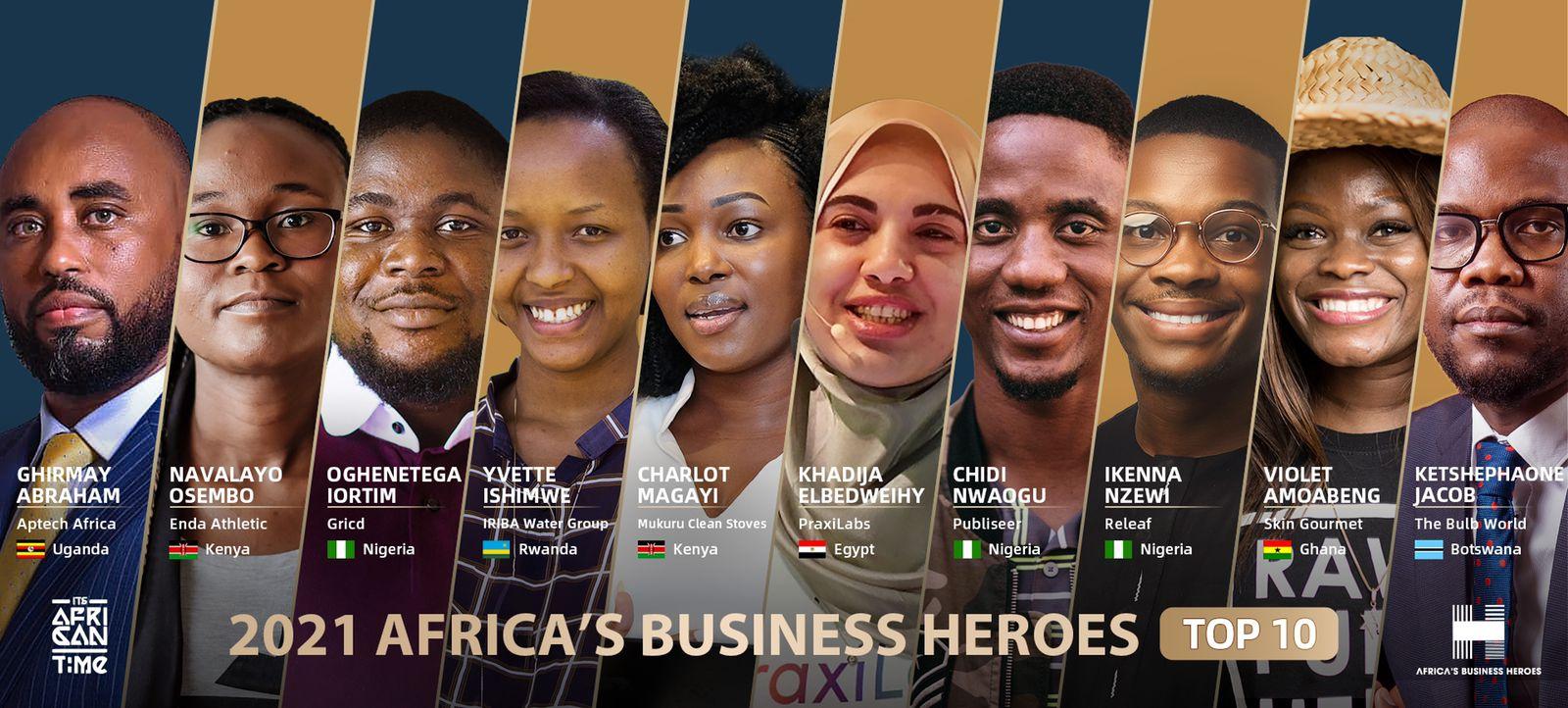 براكسيلابس من بين أفضل 10 مشاريع في افريقيا